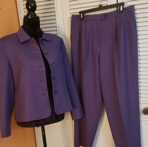 Talbot's Petite Stretch Pants Suit NWOT